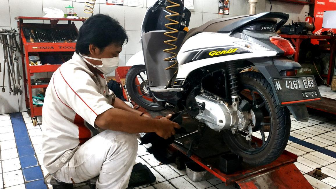 Promo Januari 2021, AHASS MPM Berikan Paket Perawatan Motor Matic