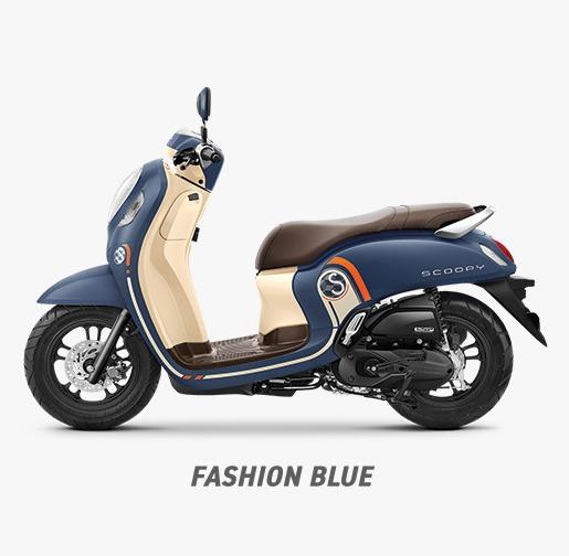 Fitur dan Pilihan Warna All New Honda Scoopy 2021