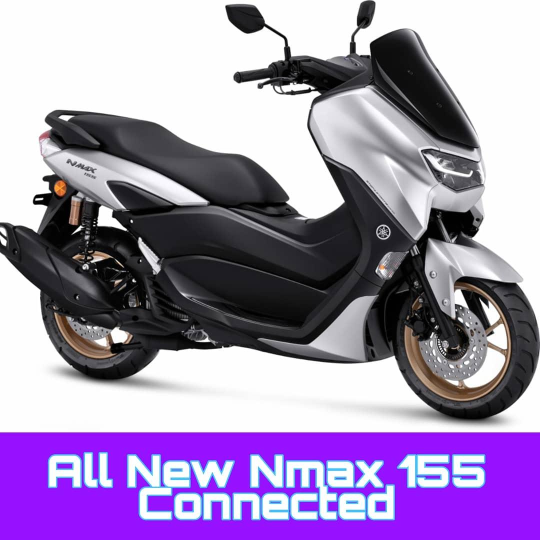 Yamaha Resmi Luncurkan Varian Baru All New NMAX 155 Connected