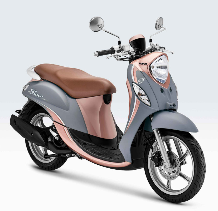 Tampilan Warna Baru Yamaha Fino 125 Premium Makin Fashionable Dan Stylish