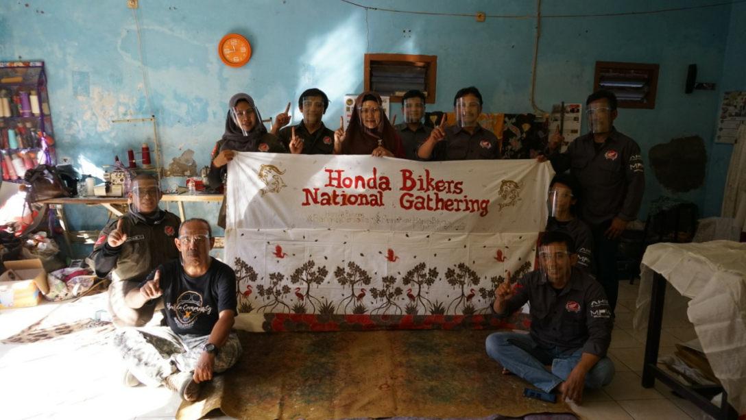 Honda National Bikers Gathering Virtual Edition: Honda Community Jatim Adakan Nobar
