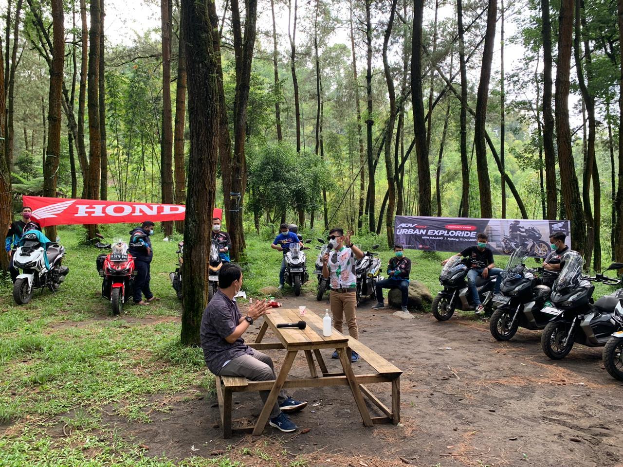 MPM Honda Jatim Ajak Komunitas ADV150 Explore Tempat Wisata Di Malang