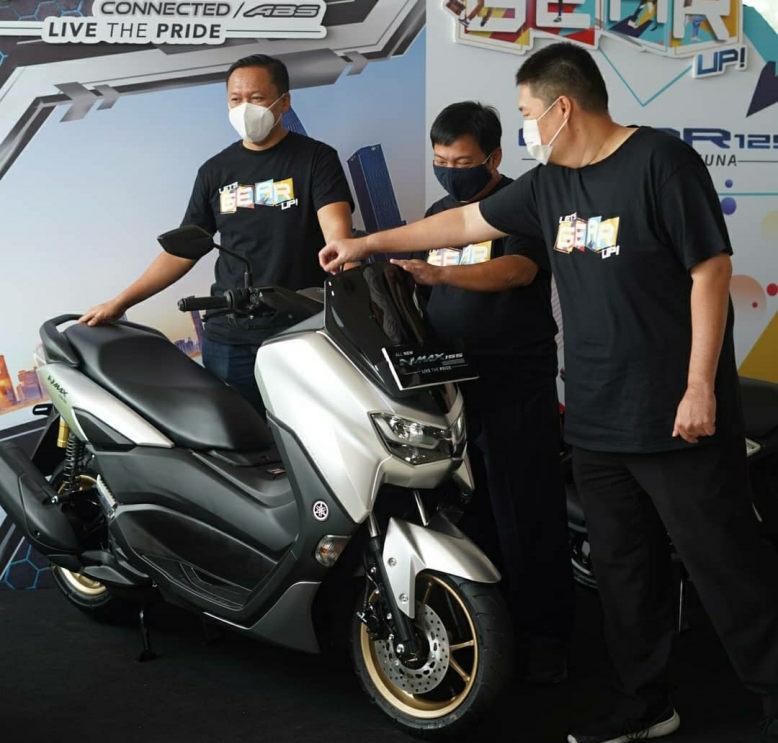 All New Nmax 155 Connected Resmi Meluncur Di Jatim, Lebih Terjangkau Fitur Canggih!