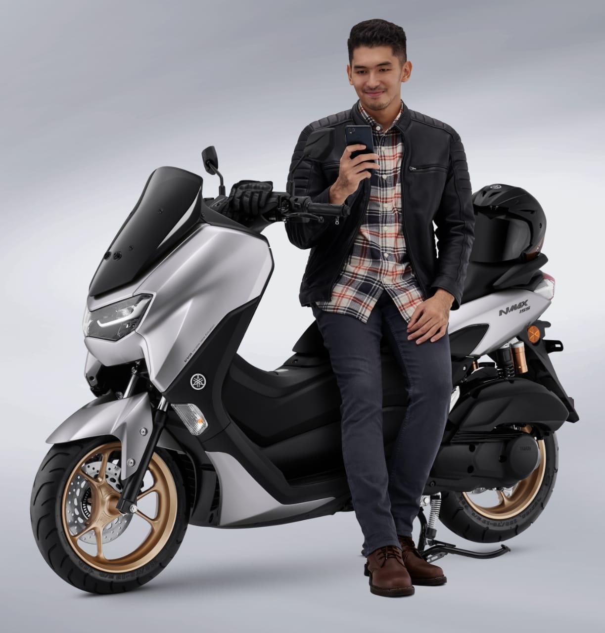 All New NMAX 155 Connected Terpilih Jadi Motorcycle Of The Year Oleh Gridoto Award 2020, Mantab!
