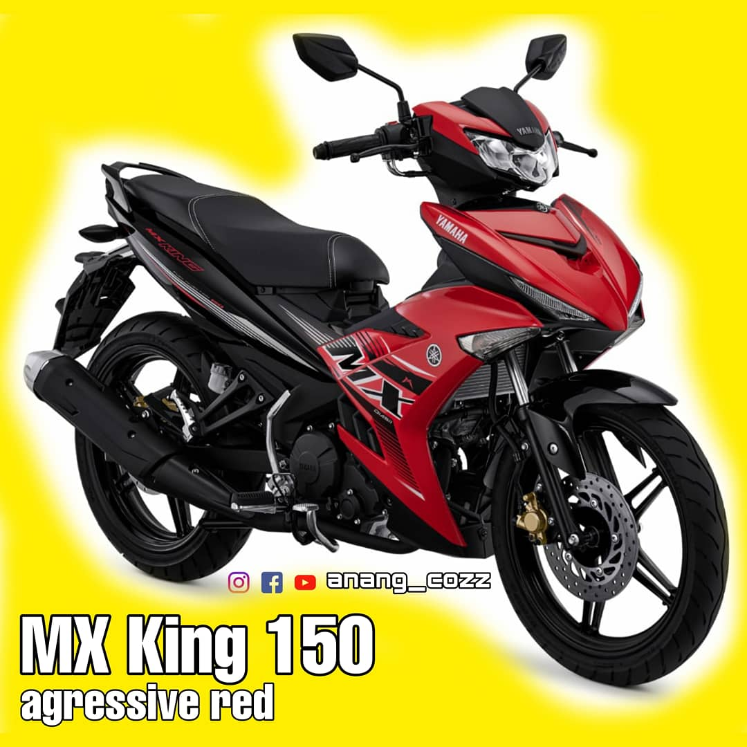 3 Warna Baru Yamaha MX King 150 Mengawali Tahun 2021