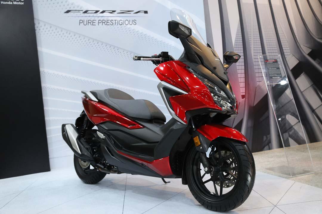 Resmi Meluncur, Honda Forza Semakin Mewah dan Prestisius