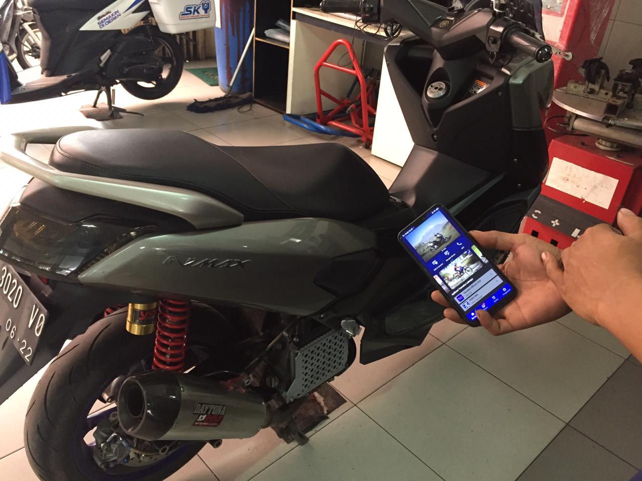 Servis Di Bengkel Resmi Yamaha Bisa Ngopi Gratis