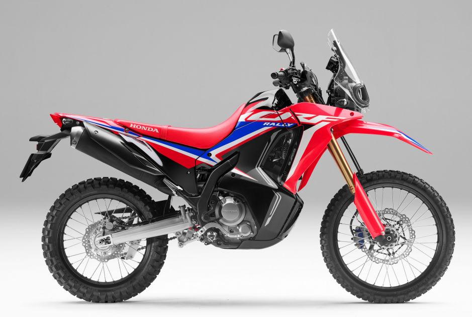 Honda CRF250 RALLY Hadir Lebih Tangguh Dan Tampilan Baru