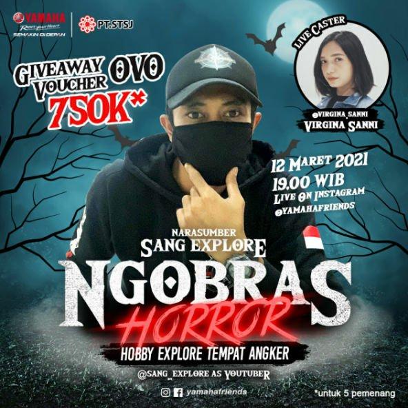 Ngobras Yamaha : Horor!! Explore Tempat Angker Bareng Cak Bolang