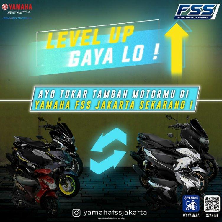 Program Trade In Yamaha, Tukar Tambah Motor Lama Dengan Motor Baru!