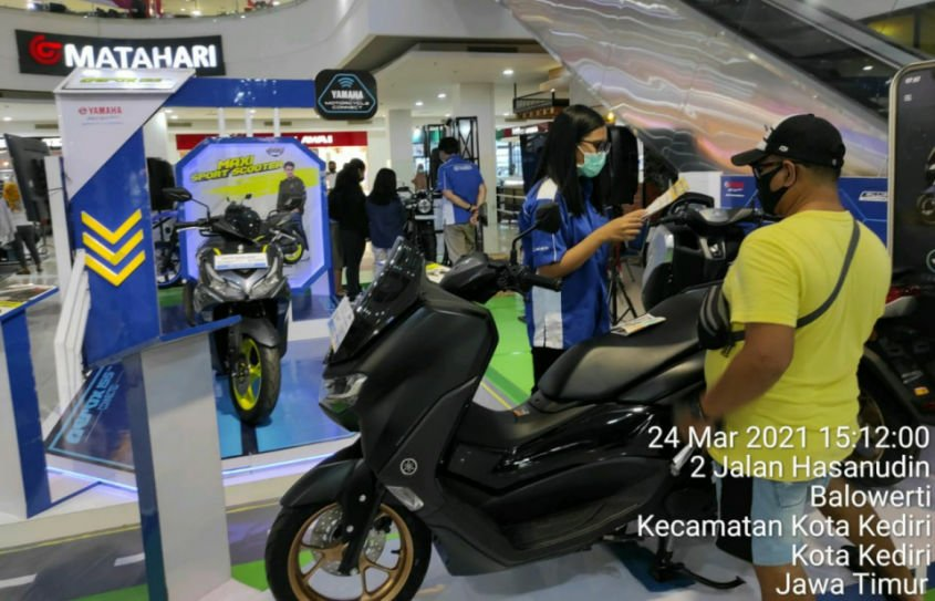 Yamaha Edukasi Masyarakat Terkait Produk dan Teknologi Terbaru Di Maxi Exhibition