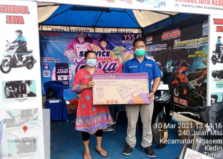 Yamaha Madiun-Kediri Adakan Program Service Motor Berhadiah