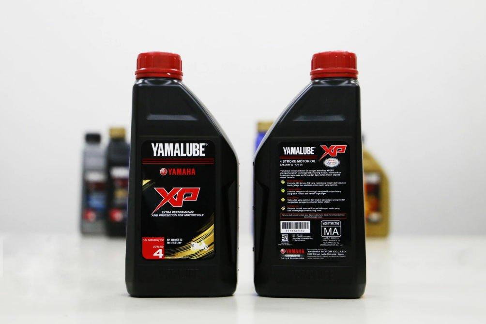 Yamaha Rilis Oli Yamalube XP-50, Untuk Motor Produksi 2010 Ke Bawah