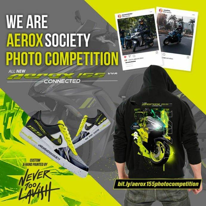 Lomba Foto Bersama Aerox 155 Kesayangan, Hadiahnya Keren!