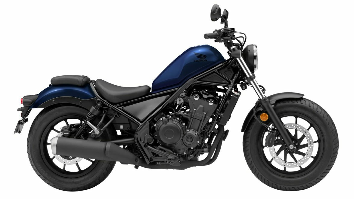Honda Rebel 2021 Hadir Semakin Ekspresif Dengan Warna Baru!