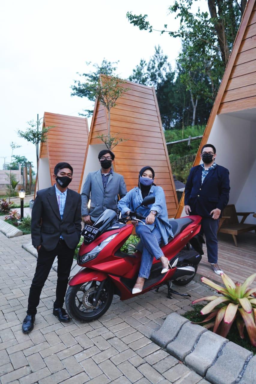 PCX City Riding Bersama Komunitas Honda Matic Malang Ke Omah Ndeso