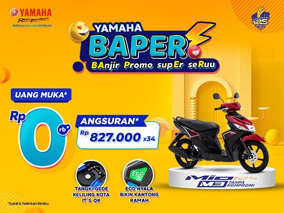 Spesial Ramadhan, Yamaha Jatim Berikan Promo DP 0 Rupiah