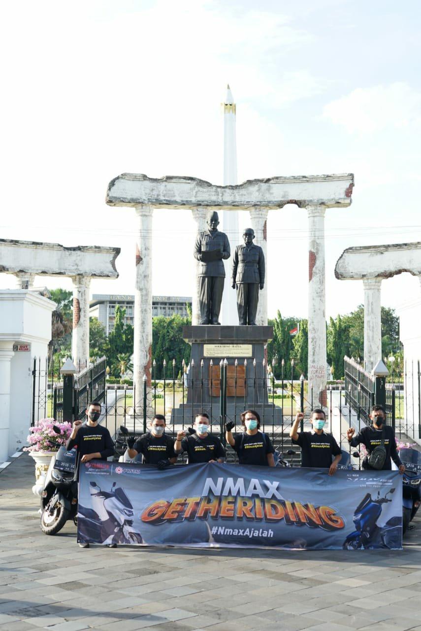 Keseruan NMAX Gatheriding Blogger Dan Media, Keliling Kota Surabaya Hingga Bukber!