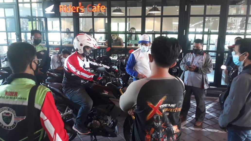 MPM Honda Jatim Ajak Sunday Riding Dan Gathering Komunitas Honda CB150R