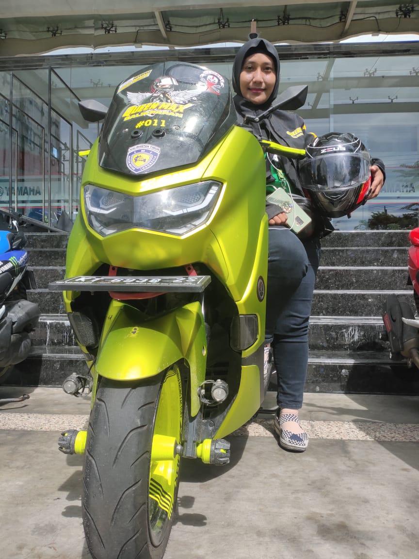 Emak2 Tangguh Touring Dari Balikpapan Ke Jawa Singgah Di Surabaya