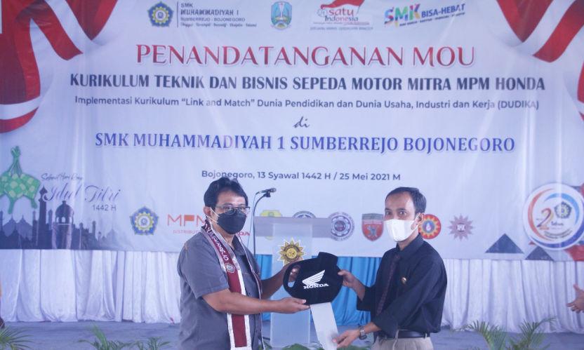 MPM Honda Jatim Resmikan Tempat Uji Kompetensi SMK Untuk Mendorong Mutu Pendidikan