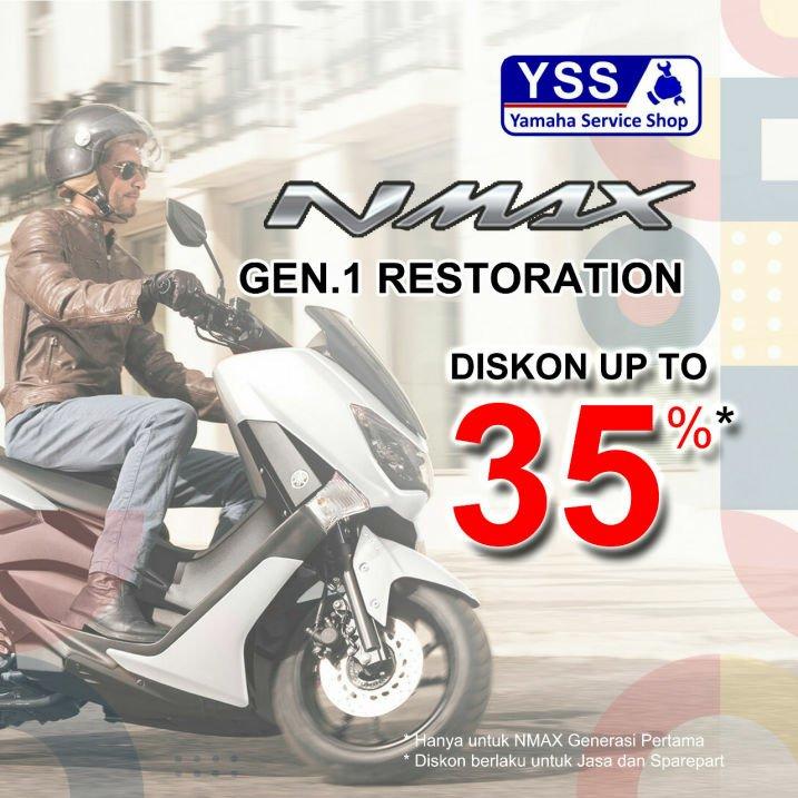 Promo Treament Special Untuk Pengguna Yamaha Nmax, Vixion Dan Mio!