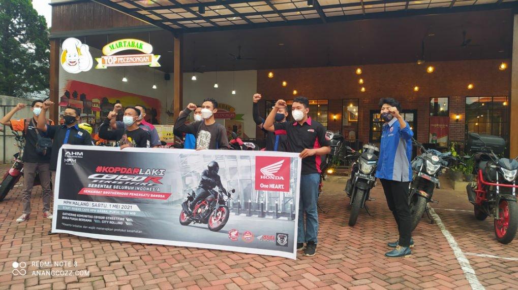 Kopdar Dan Bukber Seru Komunitas Honda CB150R Malang