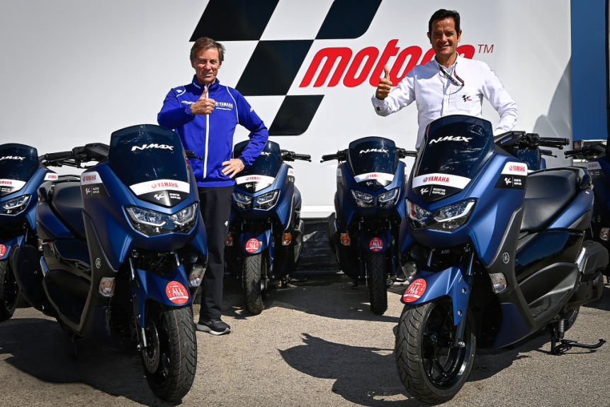 Resmi! Yamaha NMAX Kembali Jadi Scooter Paddock di MotoGP