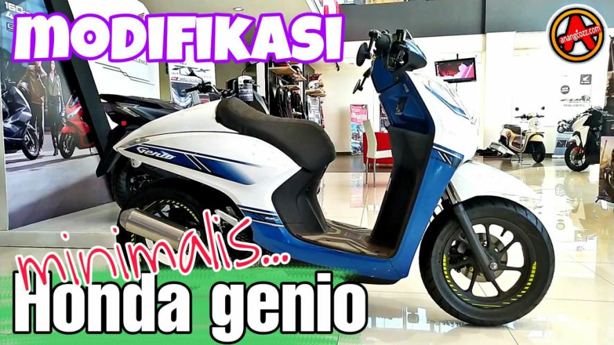 Modifikasi Honda Genio Single Seater Minimalis, Keren!