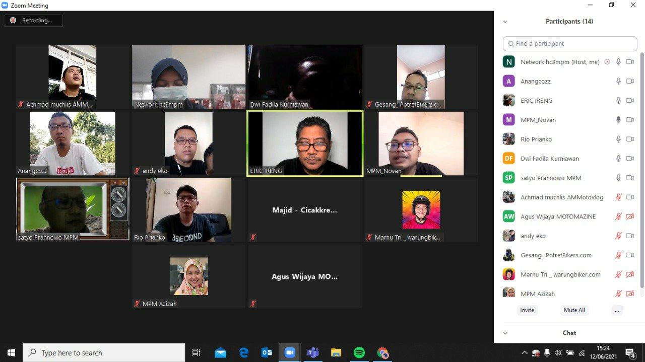MPM Honda Jatim Adakan Workshop Fotografi dan Videografi Untuk Blogger Vlogger