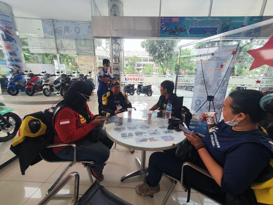 Akhirnya, Emak2 Turing Dari Balikpapan (QUEENMAX) Tiba di Surabaya