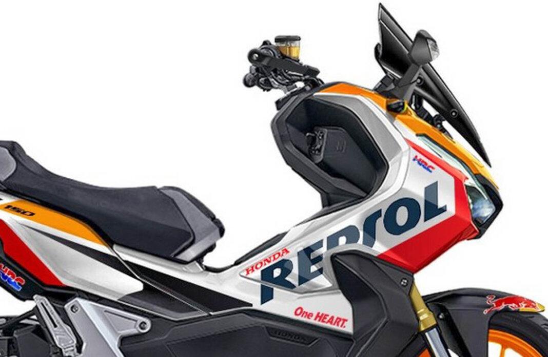 Render Honda ADV150 Pakai Livery Repsol, Sangar Cak?
