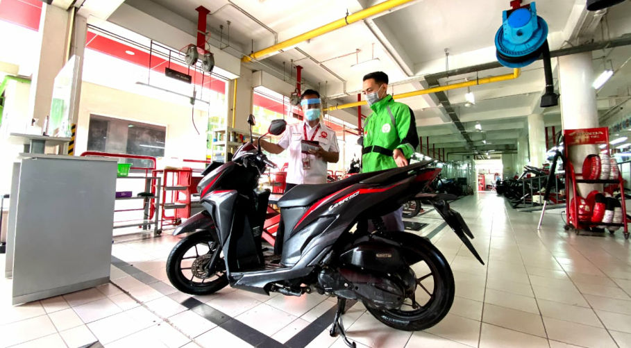 Layanan Special Khusus Bagi Pahlawan Kesehatan Dari MPM Honda Jatim