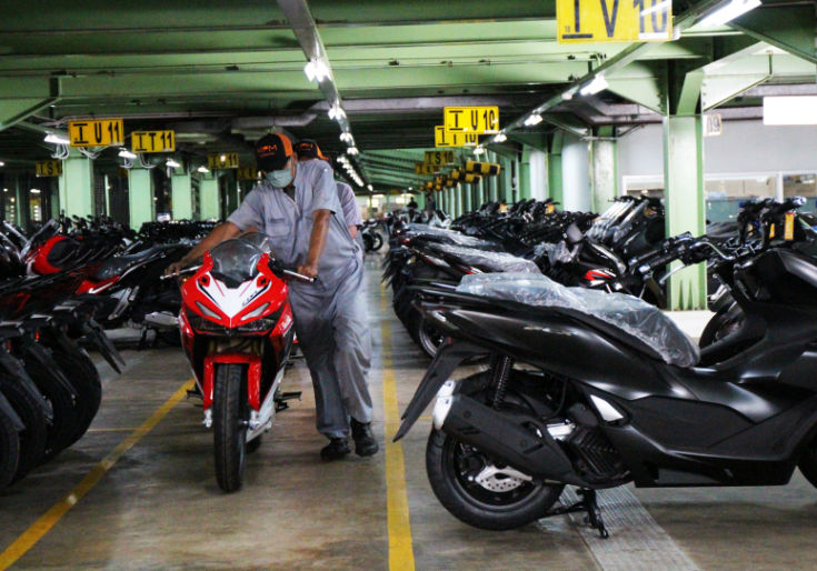 Keren! 3 Gudang Unit MPM Honda Jatim Raih Sertifikasi ISO 9001:2015