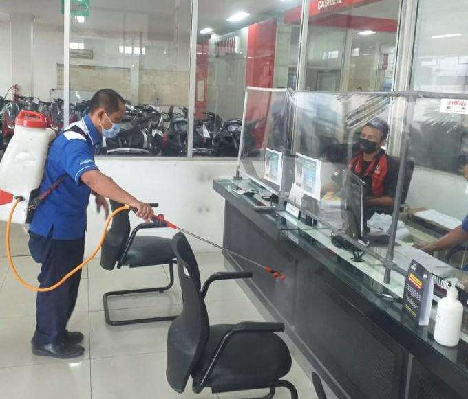 Yamaha Jatim Terapkan Prokes Ketat Dan Patuhi Aturan Selama PPKM