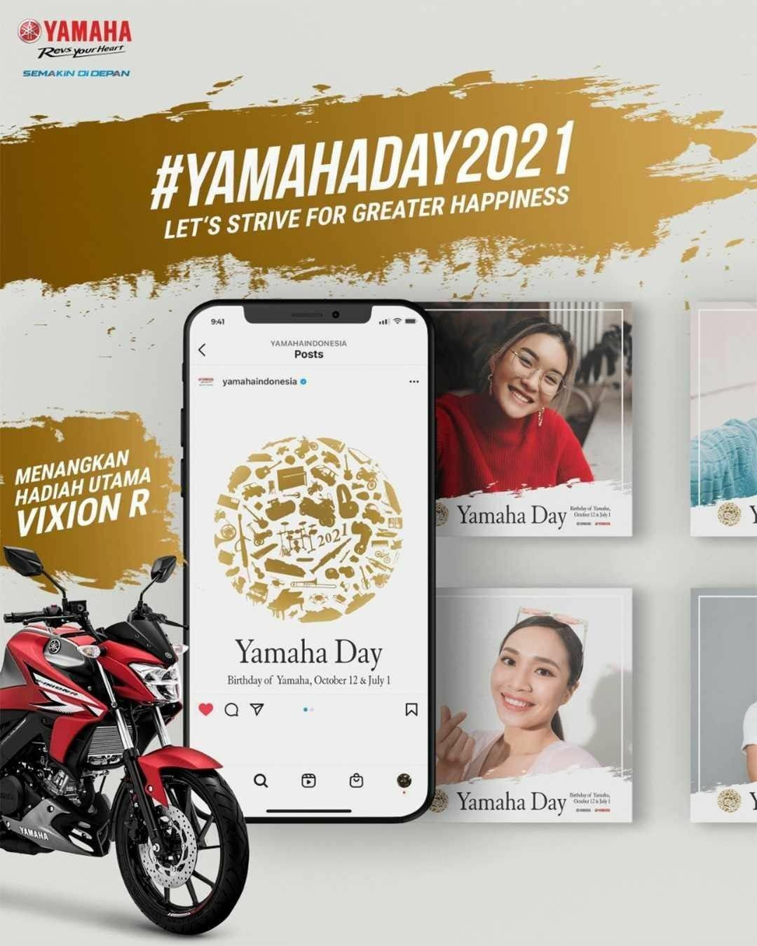 Anniversary Yamaha Motor Company Ke-66, Yamaha Jatim Adakan Photo Competition