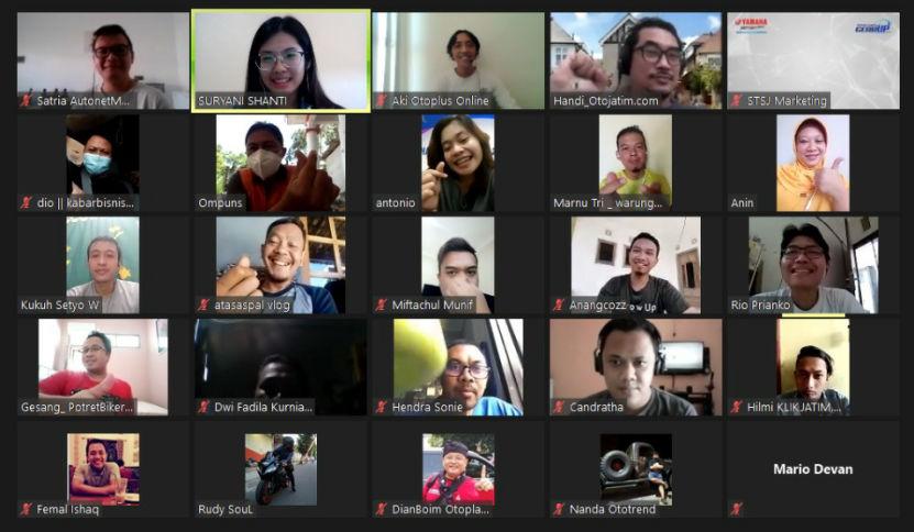Lama Gak Ngumpul Bareng, Yamaha Jatim Ajak Gathering Media Dan Blogger