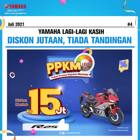Yamaha Jatim Berikan Diskon PPKM Level 4.0 Hingga 15 Juta!!