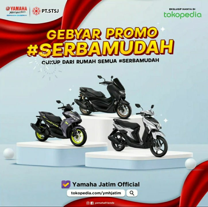 Beli Motor Baru Dari Rumah Aja, #Serbamudah dari Yamaha Jatim