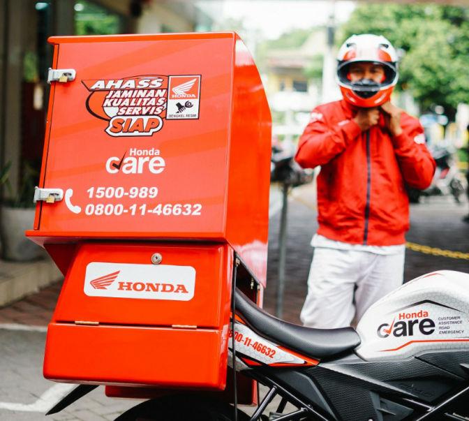 Motor Bermasalah Di Jalan? Hubungi Layanan Honda Care Honda Jatim Aja Sob!