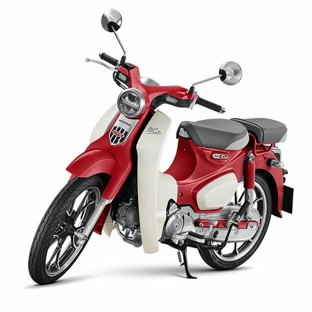 Honda Supercub C125 Kini Hadir Dengan Tampilan Baru Dan Seat Bracket