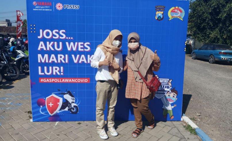 Yamaha JatimBersama Satlantas Surabaya Gelar Vaksinasi Massal Untuk 7.500 Peserta!