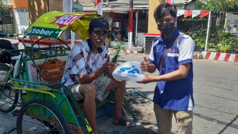 Saling Bersinergi, Diler SIP Yamaha Adakan Program Berbagi Untuk Warga