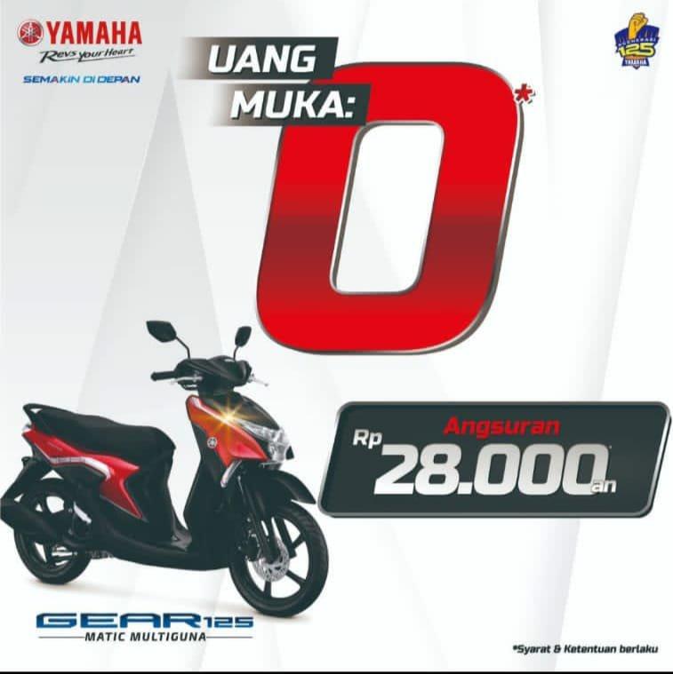 Beli Motor Yamaha Kekinian Cuma 28 ribuan, Serbuu!