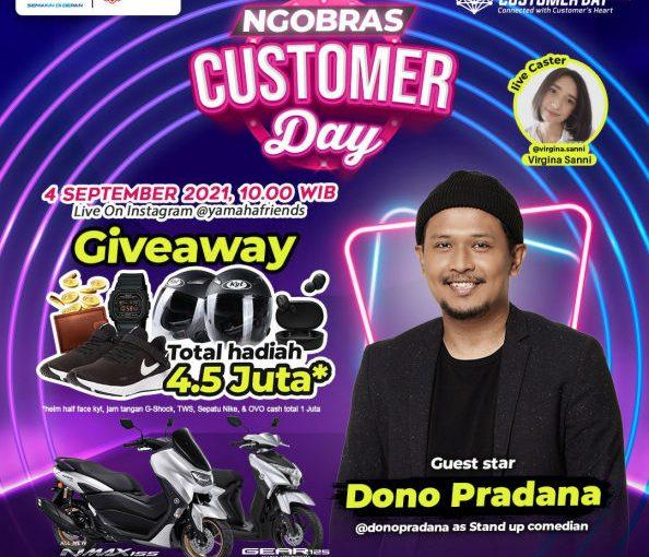 Live Spesial Customer Day 2021 Bersama Yamaha Jatim, Yuk Ramaikan!