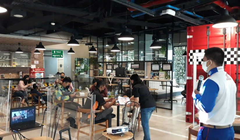 Komunitas CB150 Verza Malang Kopdar di MPM Cafe Riders, Bahas Agenda Tahunan