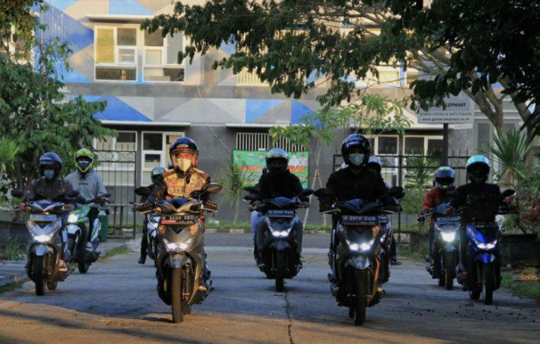 Honda BeAT Day 2021, Pecinta Honda BeAT Berkumpul dan Riding Bareng.