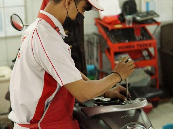 September Ceria, MPM Honda Jatim Tebar Promo Pengecekan Gratis Di AHASS