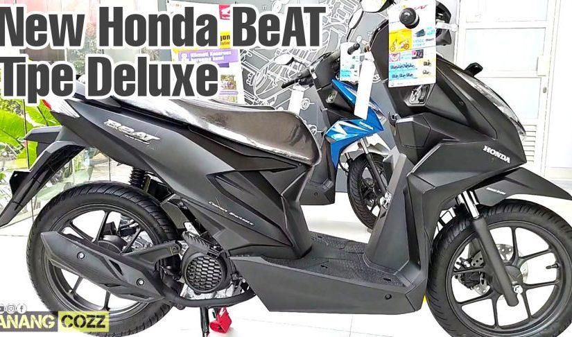 Ketemu All New Honda BeAT Tipe Deluxe Warna Matte Black