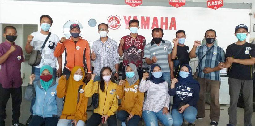 Terapkan Protokol Kesehatan, Dealer Yamaha Jatim Patuhi Dua Dosis Vaksinasi